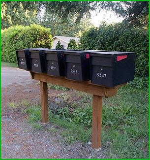 Mail Boss Gang Plank Installation