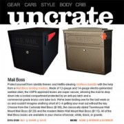 Mail Boss on Uncrate