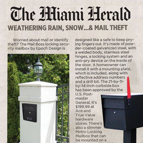 Miami Digs the Mail Boss