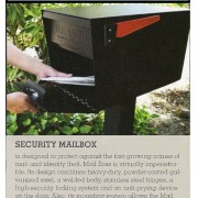 Mail Boss Security Mailbox in Hardware Retailing