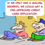 Family Gets 23 Pounds of Credit Card Apps!