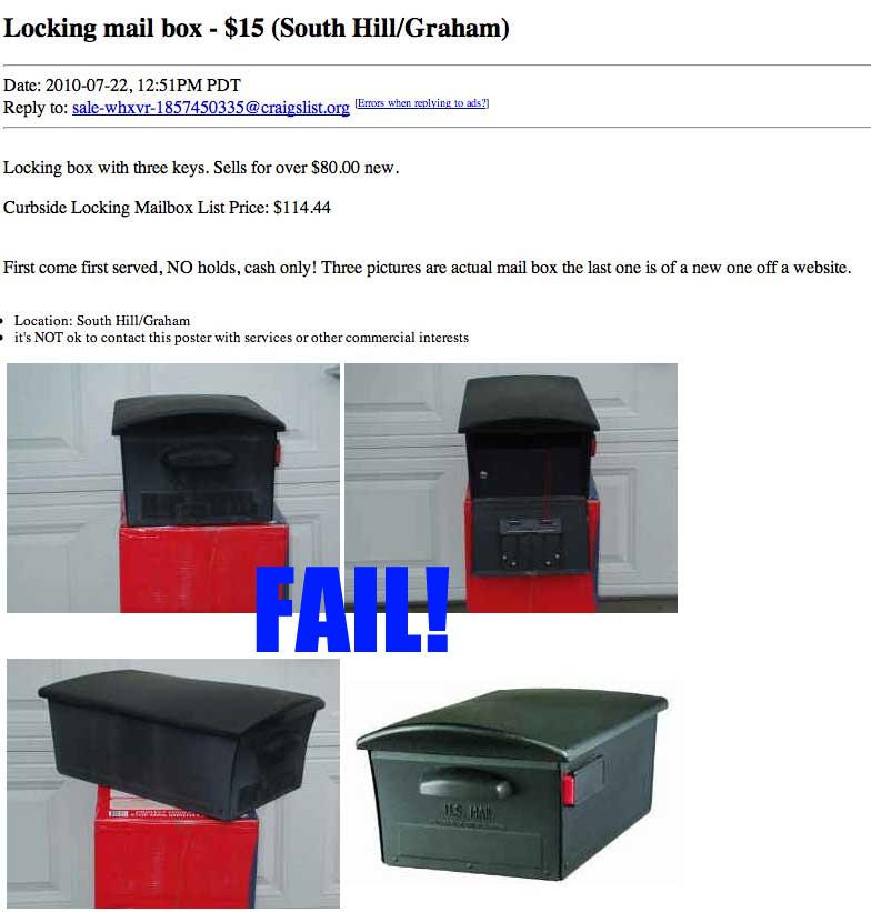 Craigslist-MailSafe