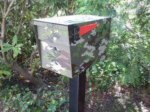 Camo MailBoss Mailbox