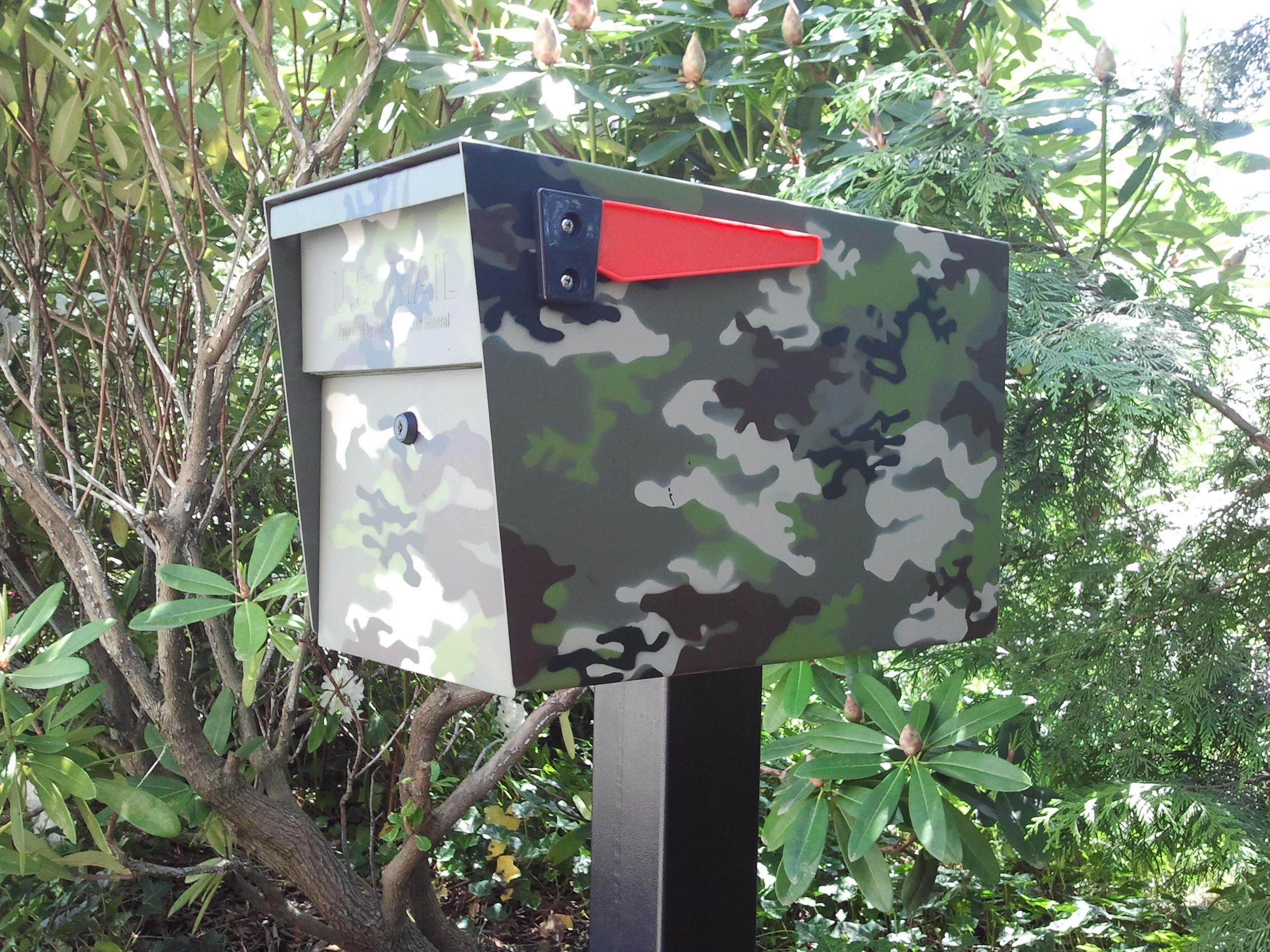 Camouflage Mailbox Camo Mail Boss Mailboss
