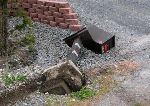 Mail Boss Run over by Truck… No Big Deal