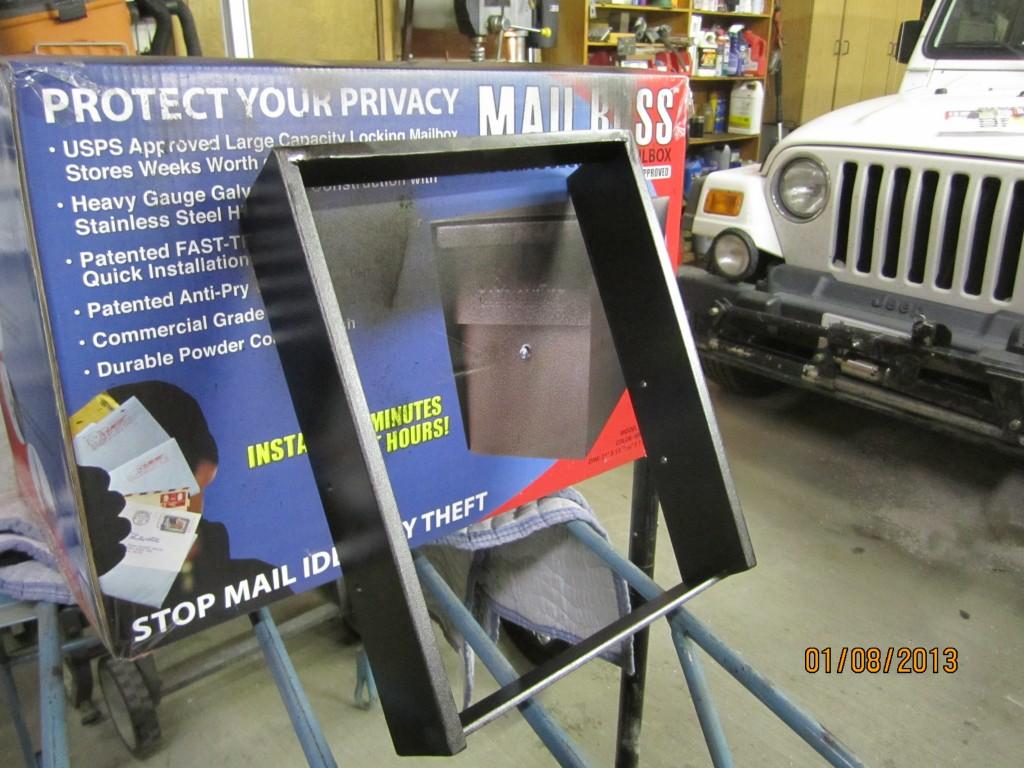Bat Buster MailBoss Mailbox DIY Ring