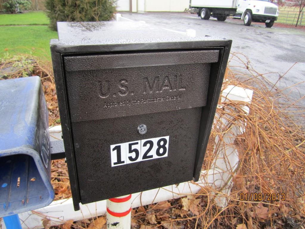 Bat Buster Mail Boss Mailbox