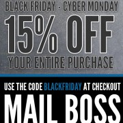 Black Friday-Cyber Monday Sale
