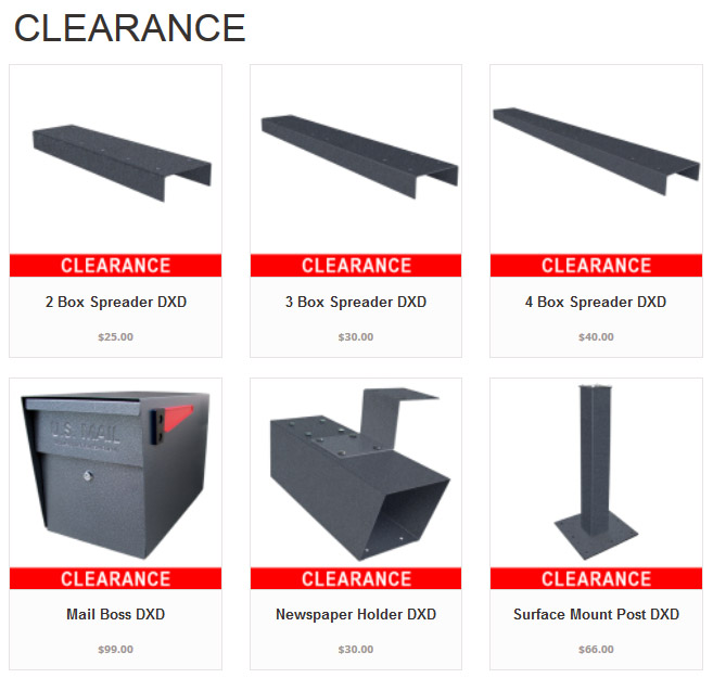 ClearanceMailBossMailboxes