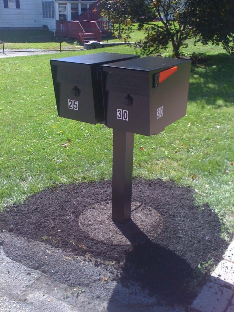 Photo: Mail Boss Package Installation