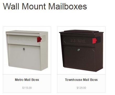 WallMountMailboxes