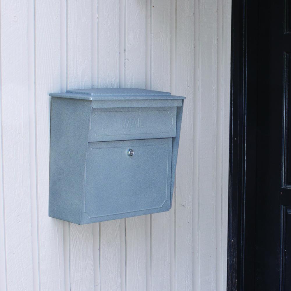 Granite Townhouse MailBoss Mailbox - Lifestyle
