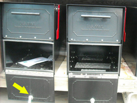 Jefferson County Oasis Jr Mailboxes Pried