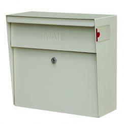 White Metro MailBoss Mailbox