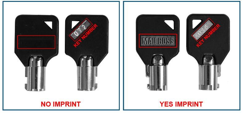 compare key imprint no imprint