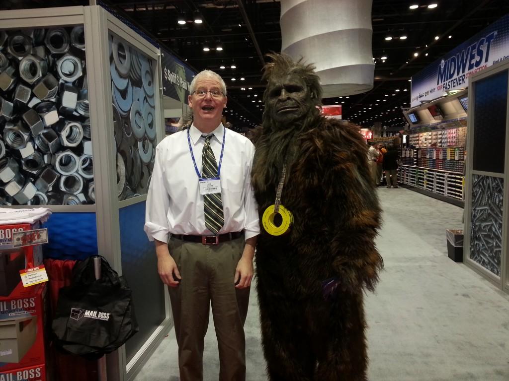 John DeRaspe Meets Bigfoot