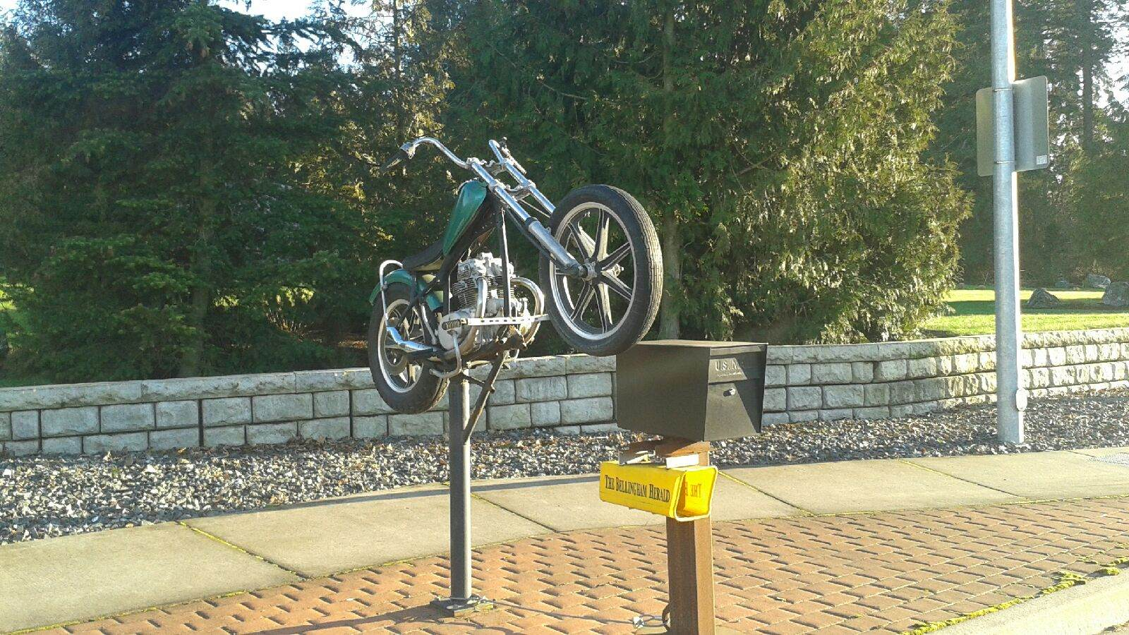 MotorcycleMailbox