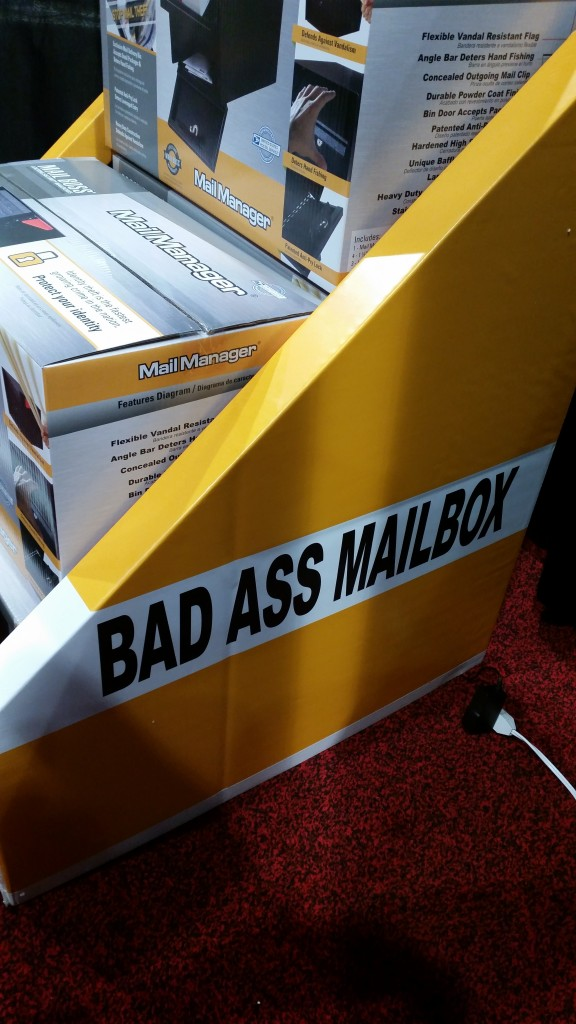 Bad Ass Mailbox Display