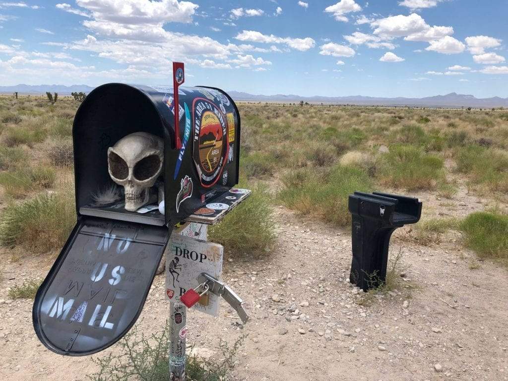 Area 51 mailbox