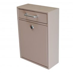 Epoch Locking Drop Box Security Collection Box Tan