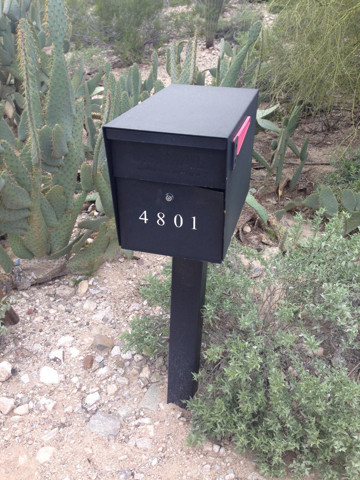 Locking Mailbox MailBoss Prying Tuscon