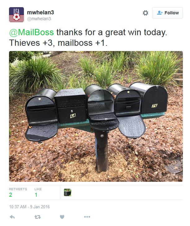 Mail Manager stops thieves