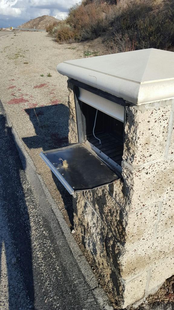 SolarGroup Mailsafe Burglarized