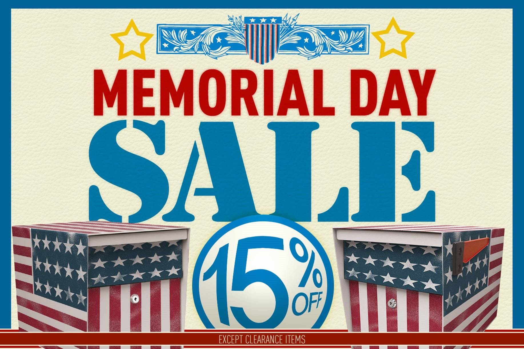 Mail Boss Memorial Day Sale