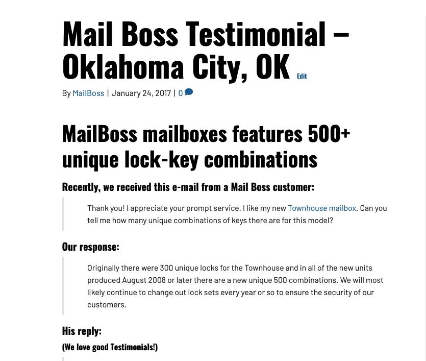 Best locking mailbox reviews