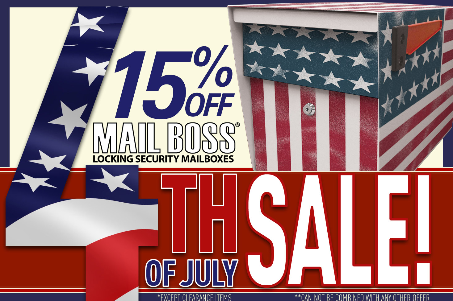Independence Day Sale – Save 15%