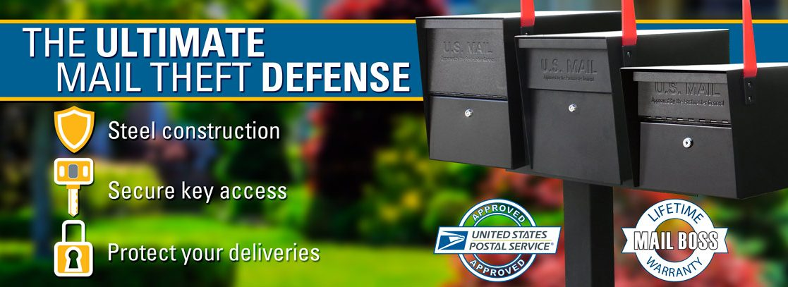 Mail Boss Locking Mailboxes High Security Mail Boxes