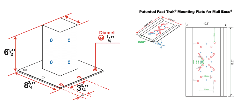 MailBoss Dimensions
