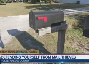 Continued Mail Thefts in Nassau County, Florida – October 31th, 2018