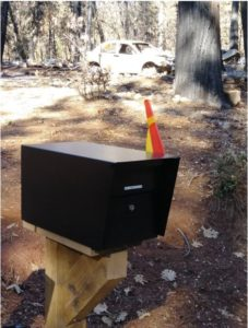 Mail Boss Locking Security Mailbox Survives Fire