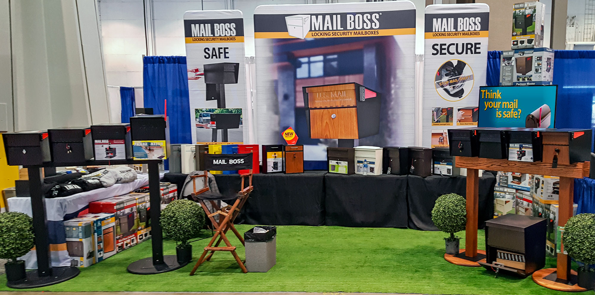 Mail Boss is at the 2019 National Hardware Show – See You There!!!
