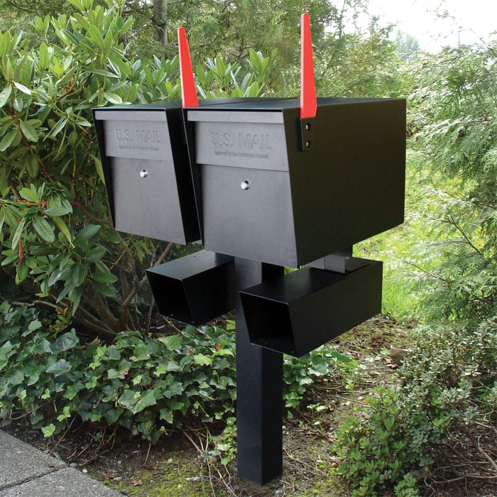 Curbside post mount roadside mailbox red notification mail delivery indicator flag replacement for mailbox kit mailbox alert flag unbreakable flexible vandal proof vandal resistant bendable plastic mailbox alert signal flag