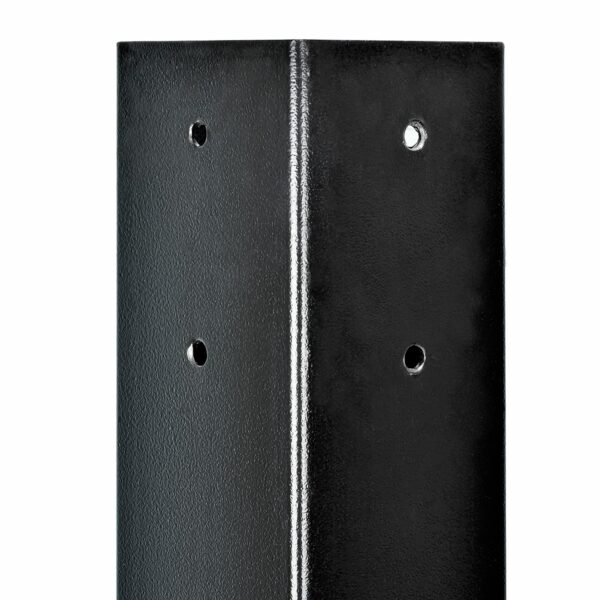 Meets mailbox height requirements based on residential mailbox laws standard rural mailbox height Galvanized welded Steel mailbox post strongest mailbox post heavy duty metal mailbox post cover Modern Architectural Epoch Design epic mailbox