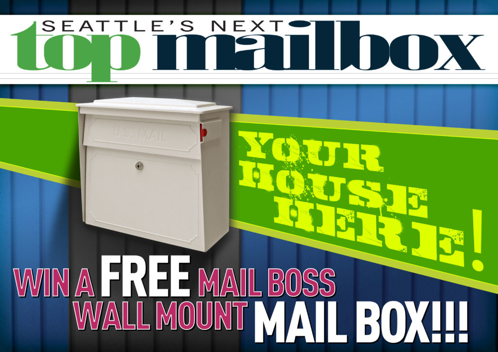 GIVEAWAY: SEATTLE'S NEXT TOP MAILBOX!