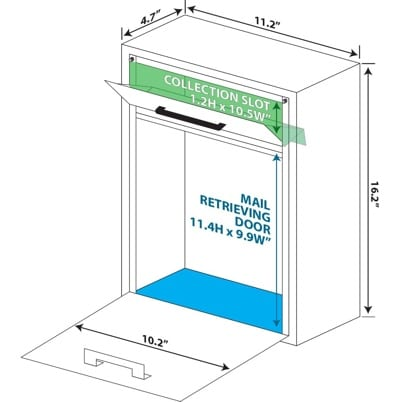 Locking Security Drop Box Specs