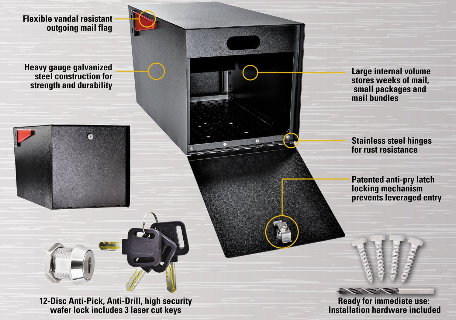 Street Safe Specifications