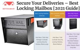 Secure Your Deliveries – Best Locking Mailbox [2021 Guide]