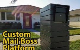 Brick Mailbox Designs Brick mailbox cost Mailbox Flower Bed DIY mailbox post ideas
