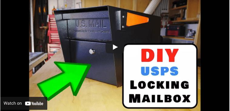 DIY USPS locking mailbox